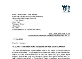 Gloucestershire County Council Local Developers Guide consultation 29 May 2020.pdf