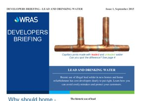 WRAS Developers Briefing - Lead and  drinking water - Feb 2020.pdf