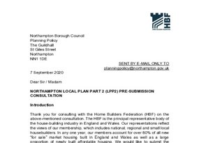 Northampton LPP2 pre submission consultation 7 September 2020.pdf