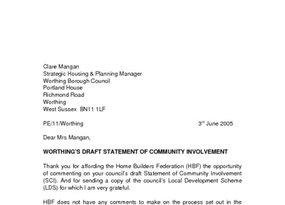 Worthing Statement of Community Involvement June 2005