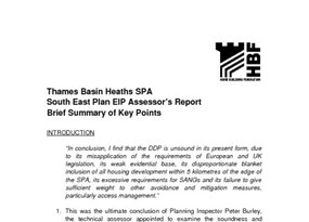 TBH SPA Assessor s Report Members Note 20 Feb 2007