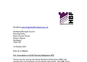 Supplementary Planning Documents North East