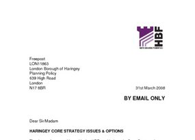Haringey Core Strategy Issues   Option - Mar 2008 1