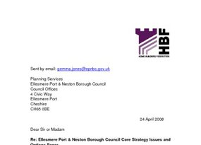 E Port and Neston Core Strategy  Isssues   Options April 2008