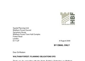 Waltham Forest Core Strategy Issues   Options - 8 August 2008