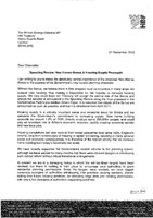 Letter to George Osborne. Stewart Baseley. HBF. 21 September 2010 FINAL