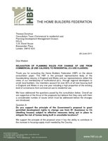 HBF Response - Commercial to Residential PD June 2011