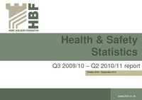 Health and Safety rolling Q2 2010 2011 results FINAL