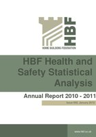 HBF Health and safety Statistical Analysis Annual Report 2010-2011 002