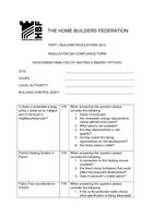 PART L BUILDING REGULATIONS 2013