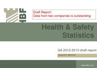Health and Safety Q4 2012 2013 results DRAFT
