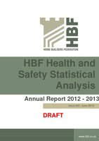 HBF Health and safety Statistical Analysis Annual Report DRAFT 1