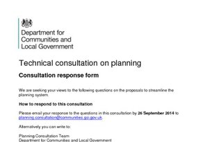 HBF response to technical consultation on planning -Sept 2014
