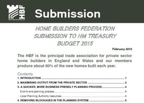 HBF Budget submission 2015 03
