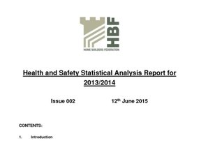 HBF HS Stats Analysis Report 2013-2014  Rev 002  12 06 15