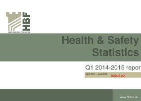 Health and Safety Q1 RIDDOR statistics results 2014 - 2015