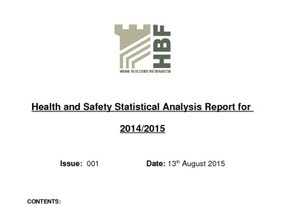 HBF HS Stats Analysis Report 2014-2015  Rev 001  13 08 15