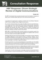 HBF Response to Digital Communications Review 2015