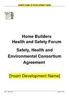 Consortium Safety Health and Environmental Agreement Rev 3 - April 2015