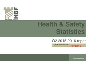 Health and Safety Q2 RIDDOR statistics results 2015 - 2016 Revision 2