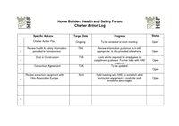 Home Builders Health and Safety Forum