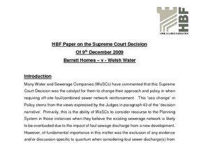 HBF Paper on the Supreme Court Decision