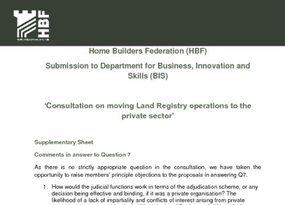 HBF Submission  May 2016 Consultation  Supplementary Q7 Answers