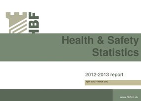 Health and Safety2012 2013 final results