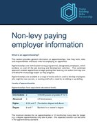 non-Levy paying employer information