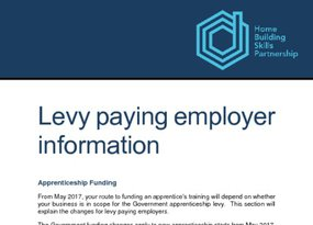 Levy paying employer information
