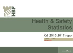 Health and Safety Q1 RIDDOR statistics results 2016 - 2017 Revision 3