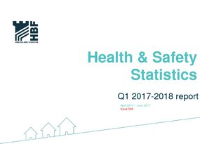 Health and Safety Q1 RIDDOR statistics results 2017 - 2018 Final