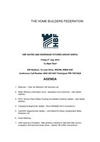 Water and Sewerage Futures Group Agenda 06.07.18 (F)