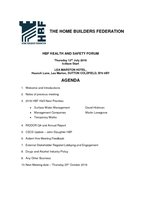 HBF Health & Safety Forum Agenda 12.07.18 (F)