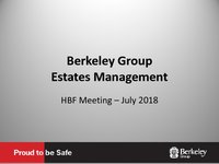 Berkeley Group HBF - July 2018
