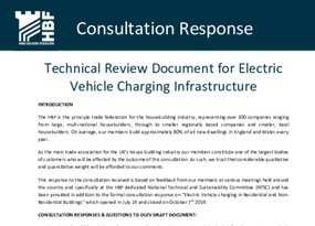 HBF - Electric Vehicle charging Consultation response Oct 19