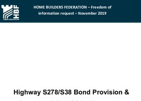 Highway S278 & S38 Bond Provision and S278 & S38 Approximate Timescales FOI 05.20.pdf