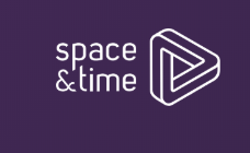 space and time logo colour
