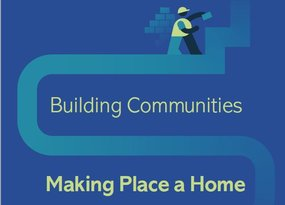 building communities report website cover